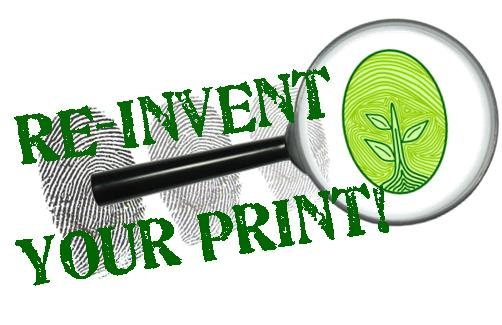 Re-Invent Your Print Logo