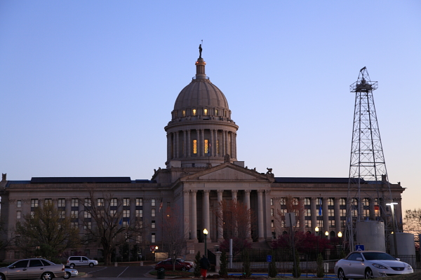 Oklahoma State Capital Buildinag