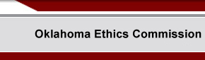 Oklahoma Ethics Commission - Home
